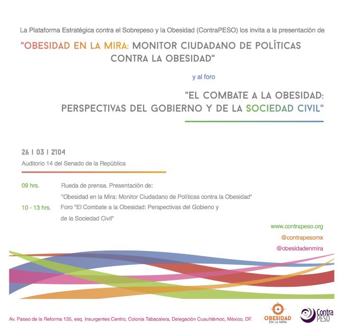 ContraPESO_Foro Monitor Ciudadano 26 marzo