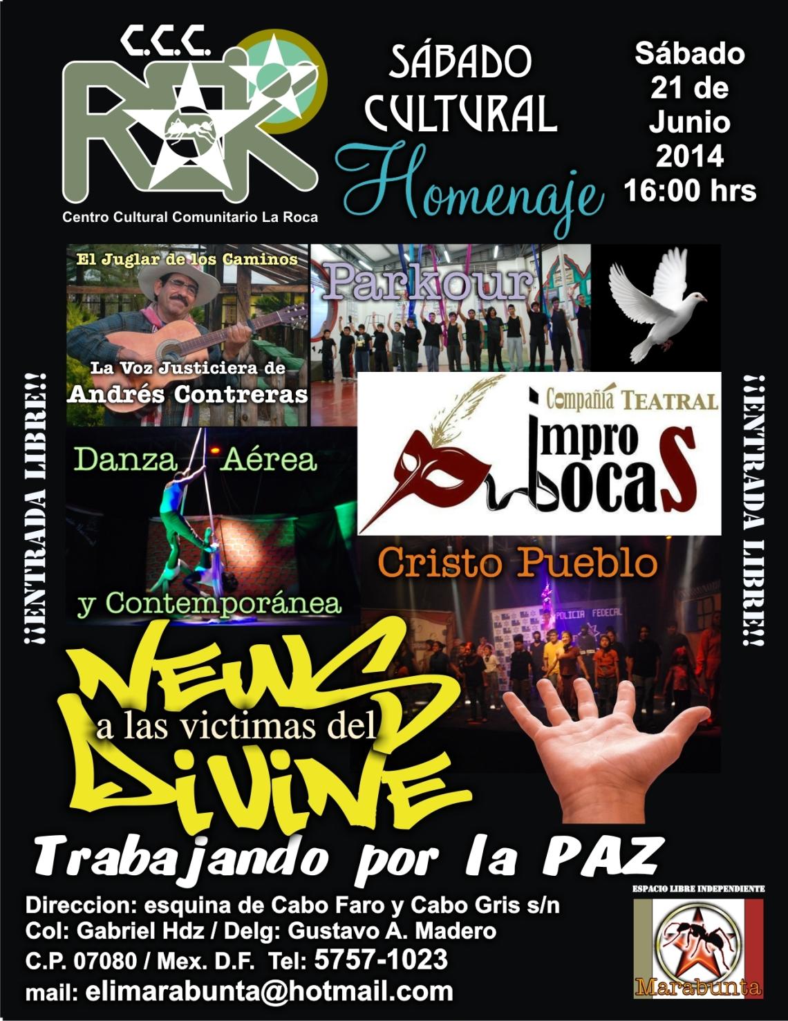 cartel Elenco News Divine 2014